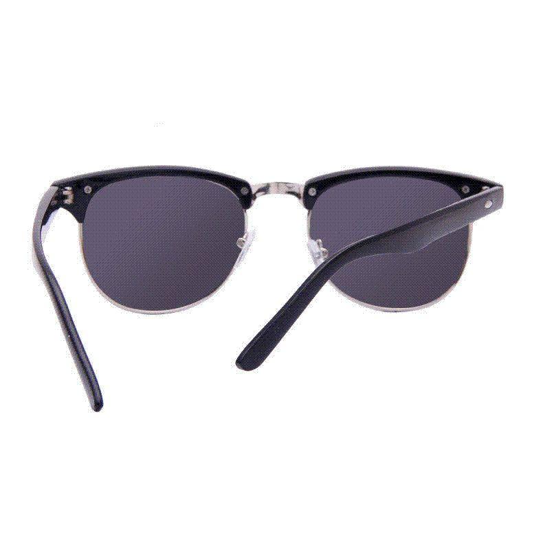 Apparel Accessories Reasonable Hot Sale High Quality Half Metal Sunglasses Men Women Brand Designer Glasses Mirror Sun Glasses Fashion Uv400 Classic Women's Sunglasses