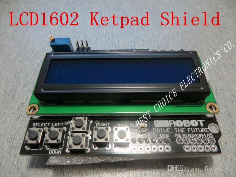 shipping LCD Keypad Shield of the LCD1602 character LCD input and output  expansion board For ARDUINO