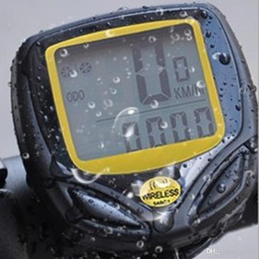 SD-548C 1 комплект водонепроницаемый беспроводной велосипедный велосипедный спортивный велосипедный компьютер спидометр одометр