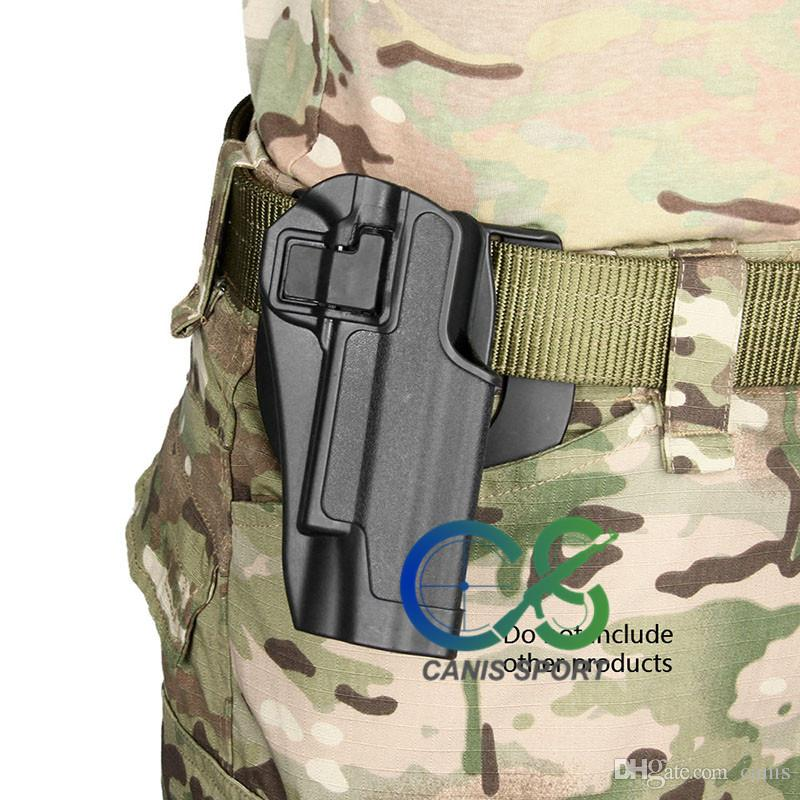 New Arrival Tactical 1911 Holster Pistol Thigh Holster of Polymer / Handgun Leg Holster without Platform CL7-0004
