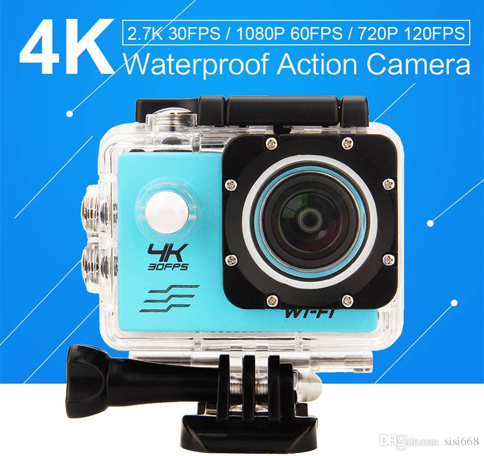 New 4K Action Camera Allwinner V3 1080P wifi Sports extreme Mini Cam Recorder Marine Diving go waterproof pro camera JBD-N4