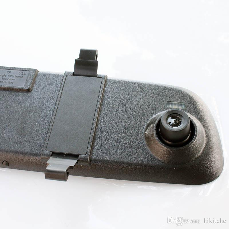 Hkt28 2.4 Inç 1080 P HD Kamera dikiz Aynası Araç Video Kaydedici Araba DVR Gece Görüş Çizgi Kam