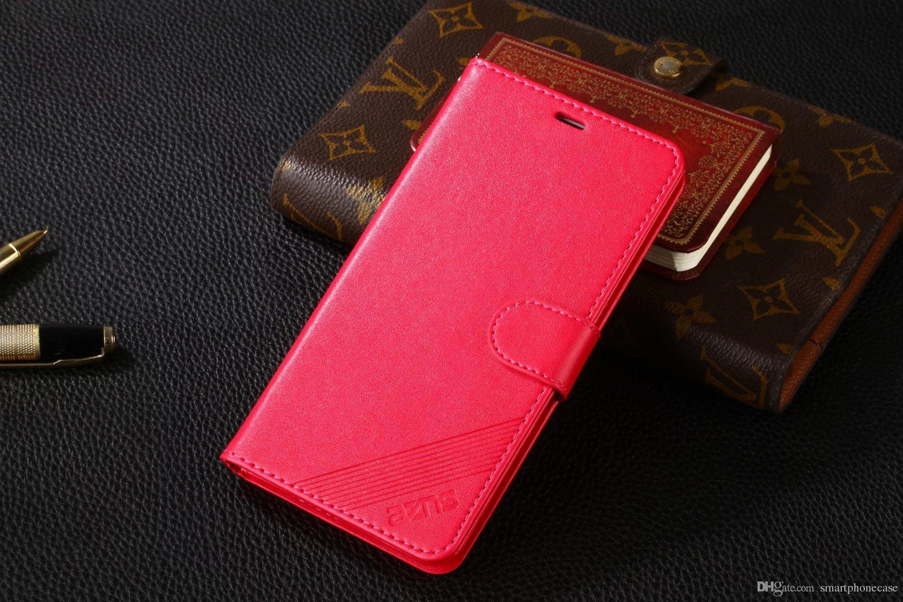 Nuovo Meizu Meilan Custodia in metallo di lusso Flip Stand colorato Custodia portafoglio originale Custodia in pelle Meizu Meilan Metal Matel