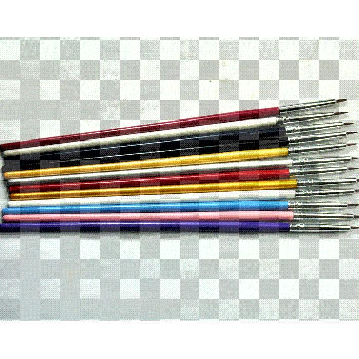 Christmas Christmas Colorful Nail Art Brush Design Brush Pen For