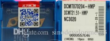 KORLO CARBIDEO INSERTO DCMT070204 HMP NC3020
