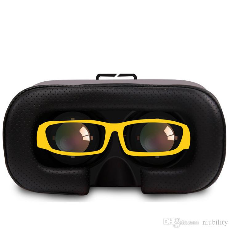 VR Case RK5th 5.0 Version Virtual Reality Glasses 3D Video Movies Games for 3.5-6 inch Smart Phone