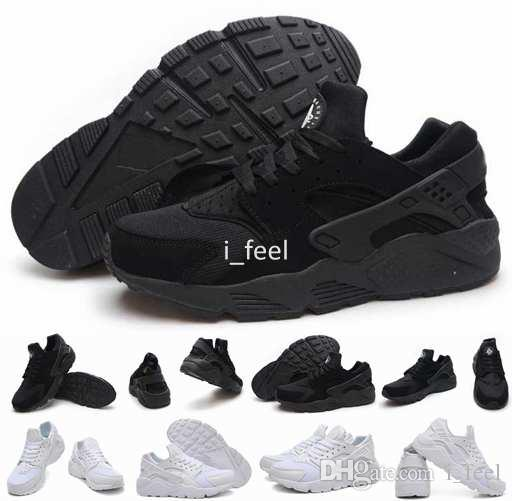 sale retailer 29fc8 f3176 Hot Sale Air Huarache Ultra Running Shoes For Women Men,Mens White Triple  Black Huaraches 1 Sports Sneakers Trainers Huraches Shoe 36-46