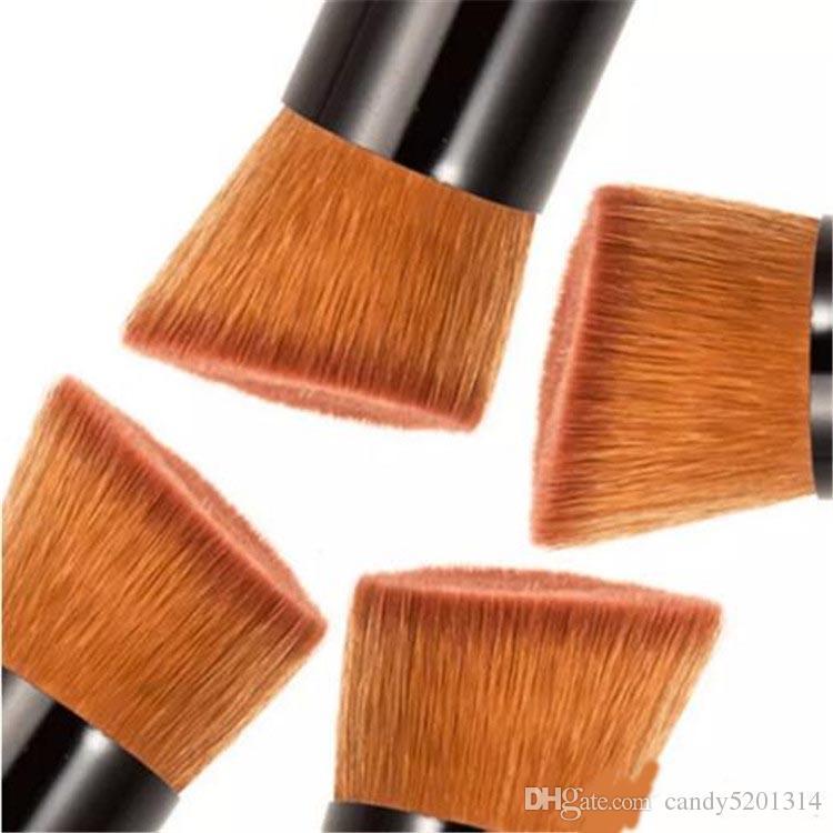 파우더 브러쉬 나무 손잡이 브러시 브러쉬 마스크 브러쉬 파운데이션 메이크업 도구 화장품 브러쉬 도매 무료 배송 A08