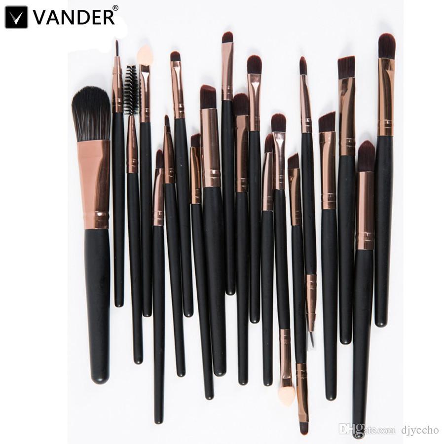 Verfassungs-Bürsten-Lidschatten Lippenstift Eyeliner Professional Make up-Pinsel-Set Tools Kit Set Kosmetik maquiagem für Frau