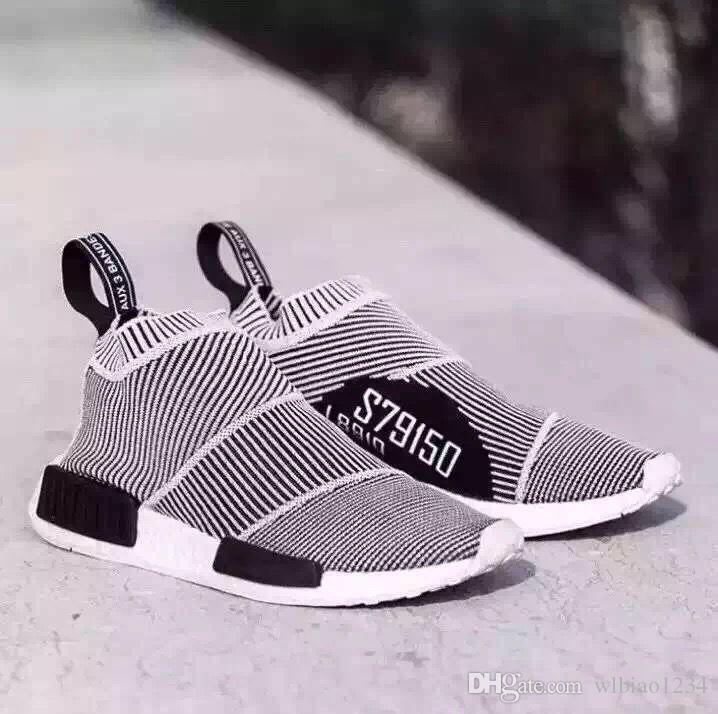 2017 New High Quality NMD City Sock Primeknit Fashion Grey White Outdoor Sports Casual Free free Shipping for sale under $60 very cheap price free shipping classic cheap really UAQE66f