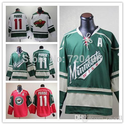 45c9e90d075 5-9 Days Men s Minnesota Wild Hockey Jersey   11 Zach Parise Jerseys A  Patch Authentic 100% Stitched Jersey Jersey Cloth Jersey Lettering Jersey  Jerseys ...