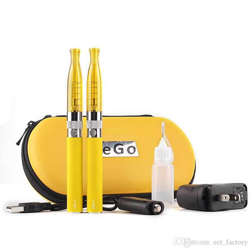 Ego eGoT GS-H2 atomizer twin pack 650 900 1100mah battery starter kit T Shisha Pen Electronic Cigarette ecig E Cigarette, OEM vs CE4 CE5