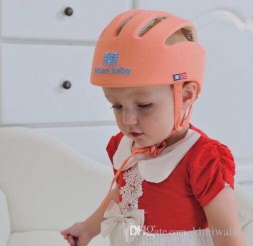 baby spädbarn skyddshatt kraschtäker bump anti-chock säkerhetslock spelar toddler cap baby hjälm toddler för att lära sig promenad