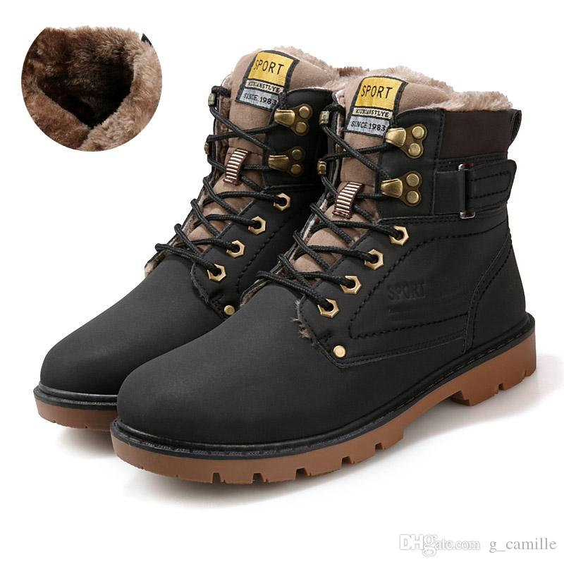 Winter code tooling boots men's boots/ snow boots/Martin boots