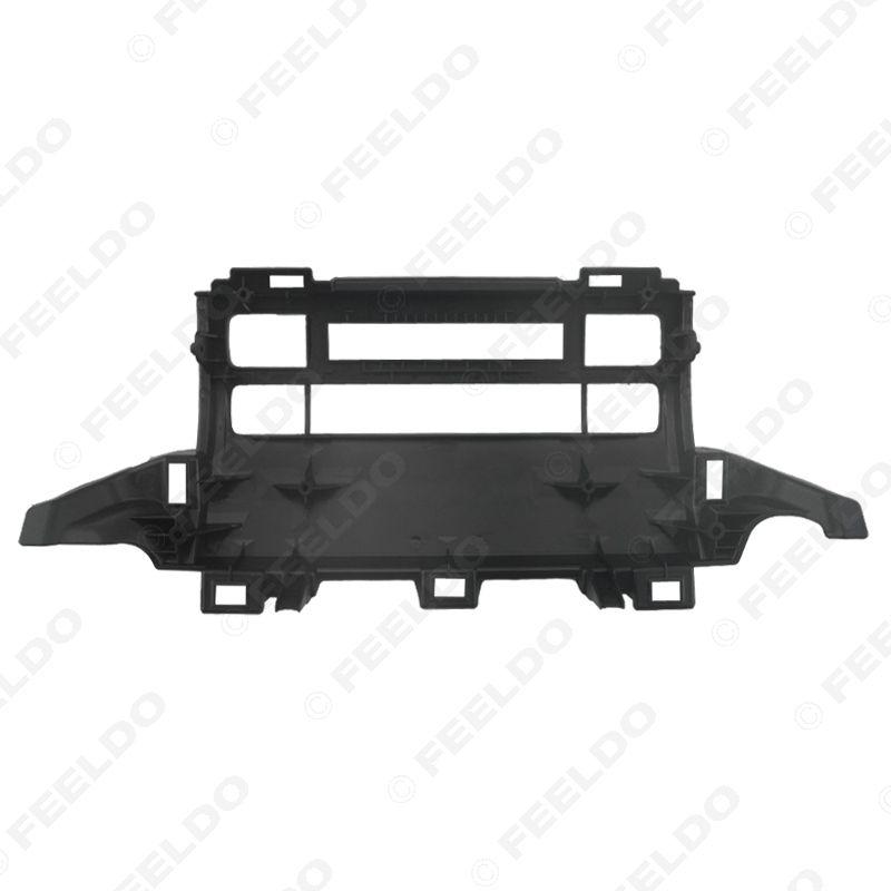 FEELDO Car Frame Panel Fascia For Toyota Prado 120 J120 Radio DVD Stereo Panel Dash Mounting Installation Trim Kit Face Frame #3636
