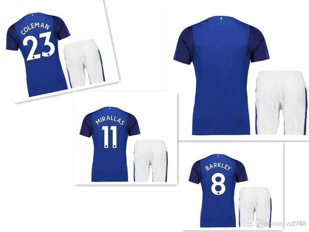c776d4b10f3 2017 Everton Soccer Jerseys Rooney Klaassen Mirallas Barkley ...
