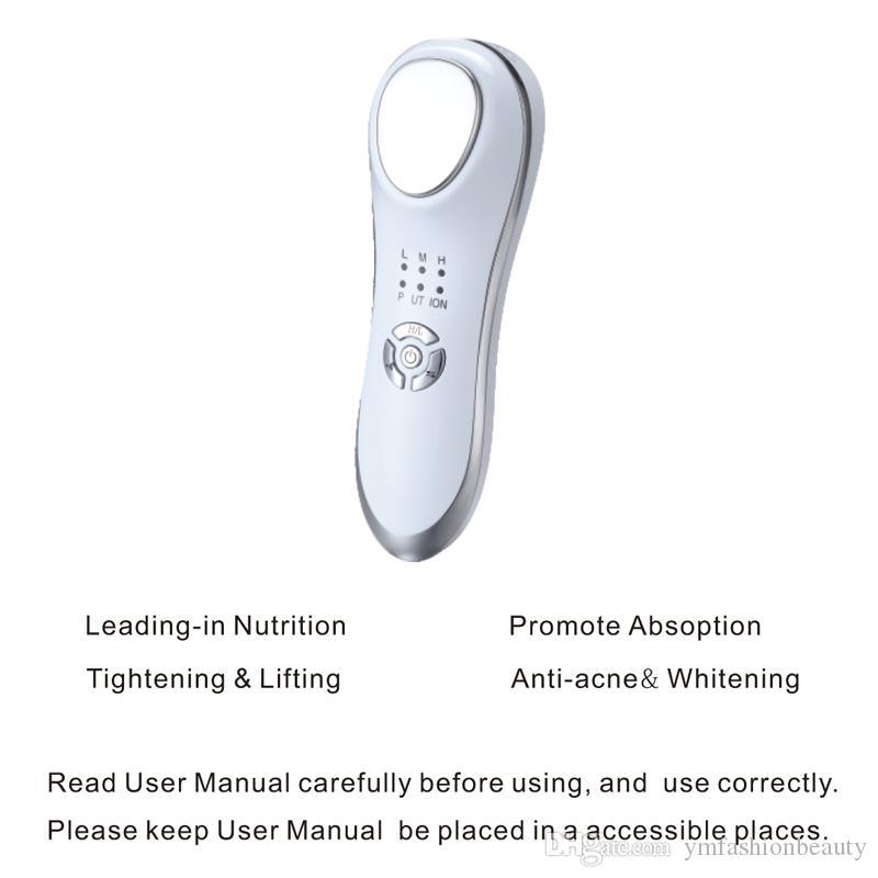 3MHz Ultrasonic Cleaning Machine Ultrasound Skin Care Facial Massager Facial Cleaner with Vibration Ion Skin Rejuvenation Device