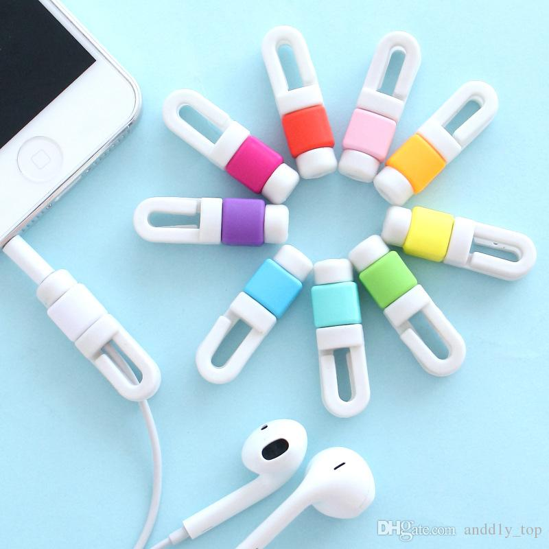 Earphone Cable Winder Wire USB Date Cable Organizer for iPhone iPad MP3 Headphone Tablet Wire Menagement