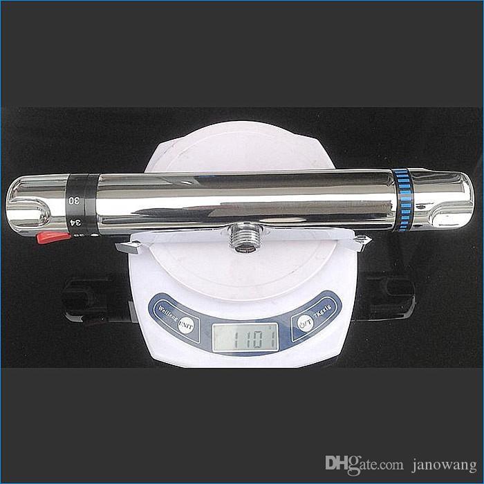 Todos os cobre torneira do chuveiro termostática escondida, latão torneiras termostáticas do banheiro, válvula de mistura termostática do chuveiro, Frete Grátis J14688