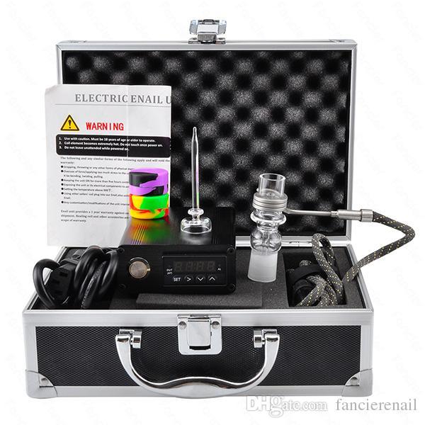 Dab nail E dabbing electric nail dab quartz nail PID digital box for quartz banger dab rig with coil hetaer