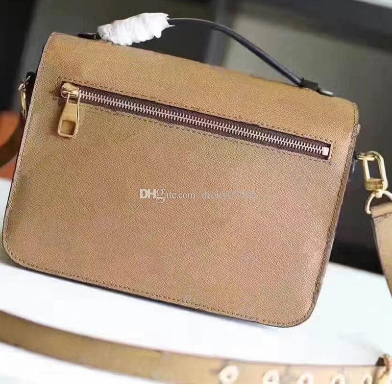 Wholesale New orignal real genuine leather lady messenger bag fashion satchel shoulder bag handbag presbyopic package mobile phone purse