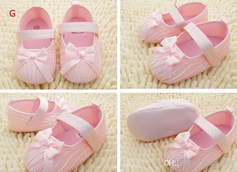 Infantil Meninas Sapatos de Fundo Macio Sapatos Polka Dot Flor Sapatos Da Criança Sapatos de Bebê NOVO