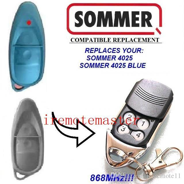 High Quality And Best Price For Sommer 4025 Compatible Remote