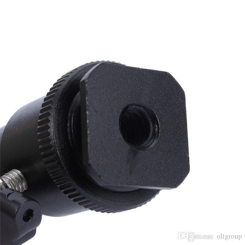 OLEEDA 360 Halter Halterung Ganzmetallkamera Zubehör Cradle Kugelkopf mit Schloss für Kamerastativ LED Light Flash Bracket