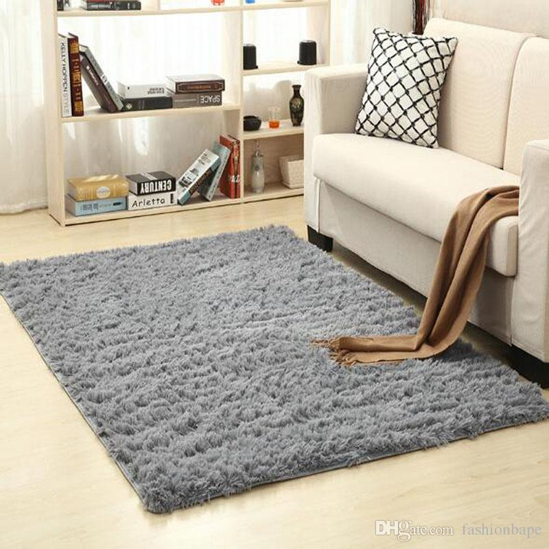 Home Carpets For Parlor Bedding Room Yoga Mat Plush Fabric Fluffy