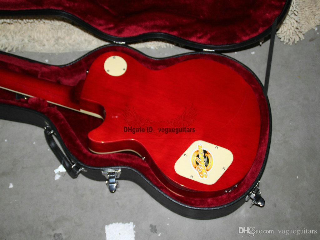 Custom Shop Newest Red Mahogany Electric Guitar High Quality Musical instruments