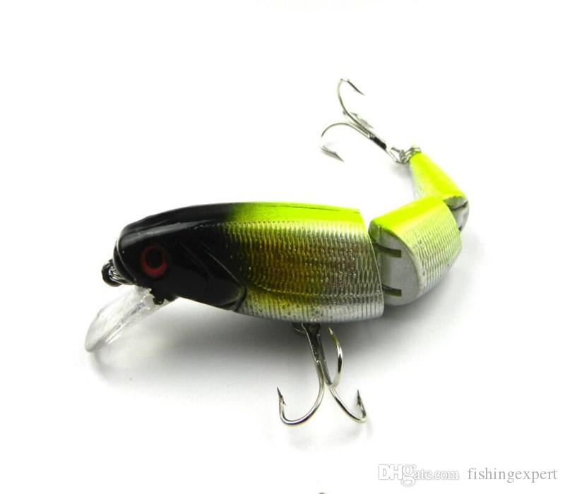 Wholesale Price Fishing Tackle Multi-section Fishing Lures 10.5cm Plastic Hard Baits 14g Artificial Fake Lure for Saltwater