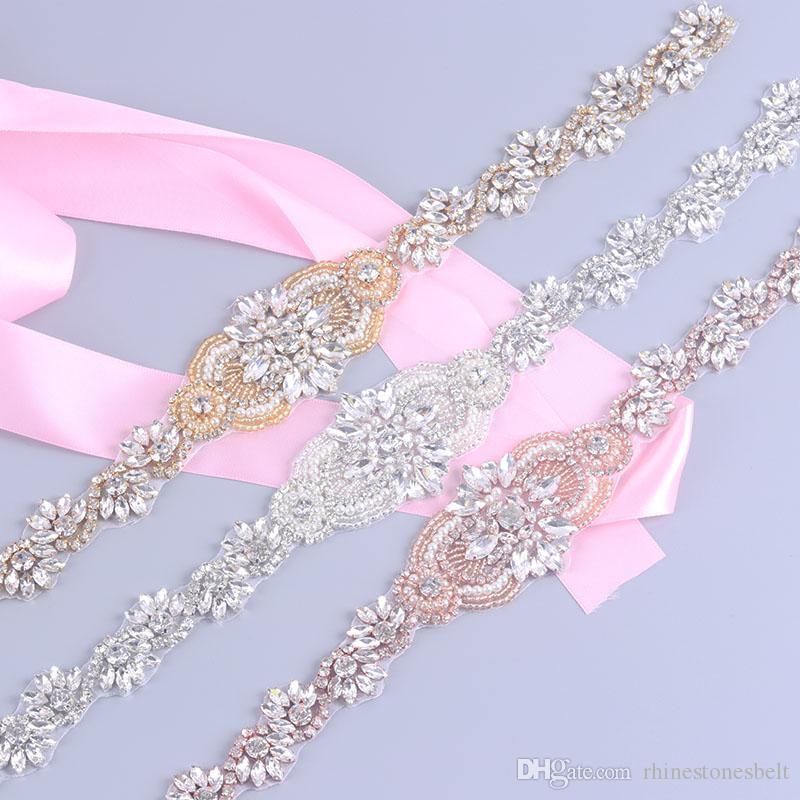 Vestidos de novia imitacion rosa clara