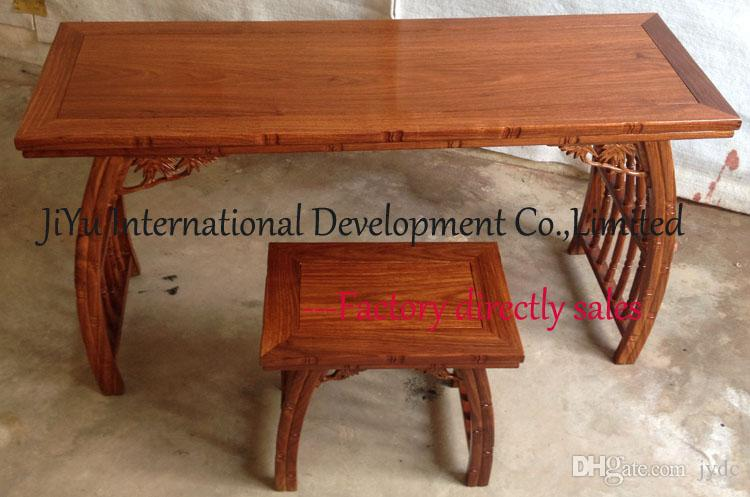 2018 Home Furniture Piano Table In Classicial Antique Design 100% Luxury  African Red Sandalwood Desk Kids Writing Table Wood Furniture From Jydc, ...