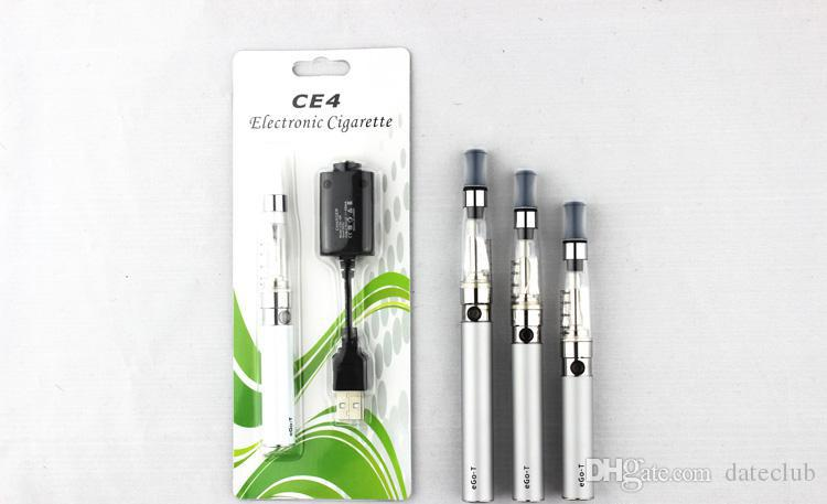 Factory Price!! Ego CE4 Blister 650mah Kits Ego CE4 Atomizer E Cigarette with 650mAh Ego-T Battery via DHL Electronics Clearomizer