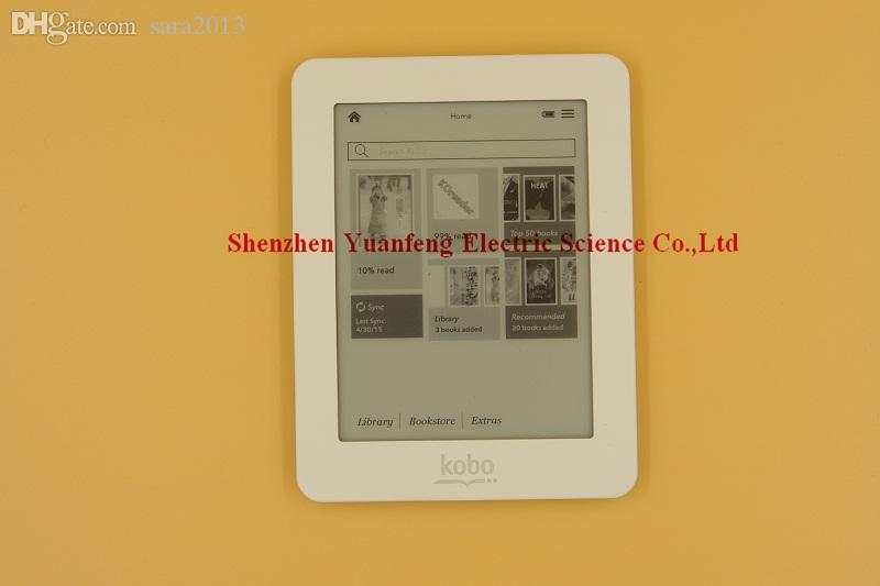 Wholesale-Best!! e-book reader e-ink Kobo Touch N905 PDF eBook Reader e-ink  6 inch Infrared Touch screen WiFi 2GB electronic Book ereader
