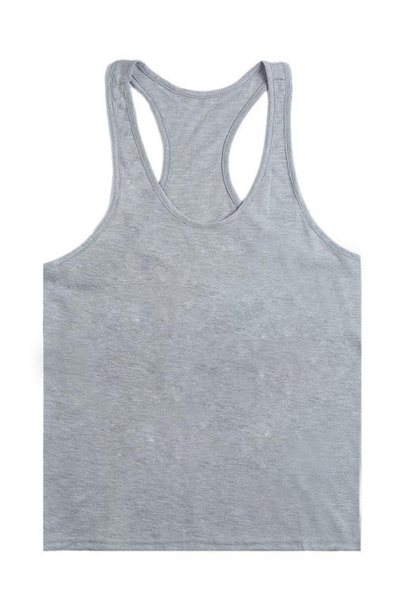 b9722d25e71 2019 New 2017 Blank Without Printing Gym Singlets Men Tank Tops  Bodybuilding Fitness Men S Gym Stringer Tank Top Sports Clothes From  Shuangmianjing