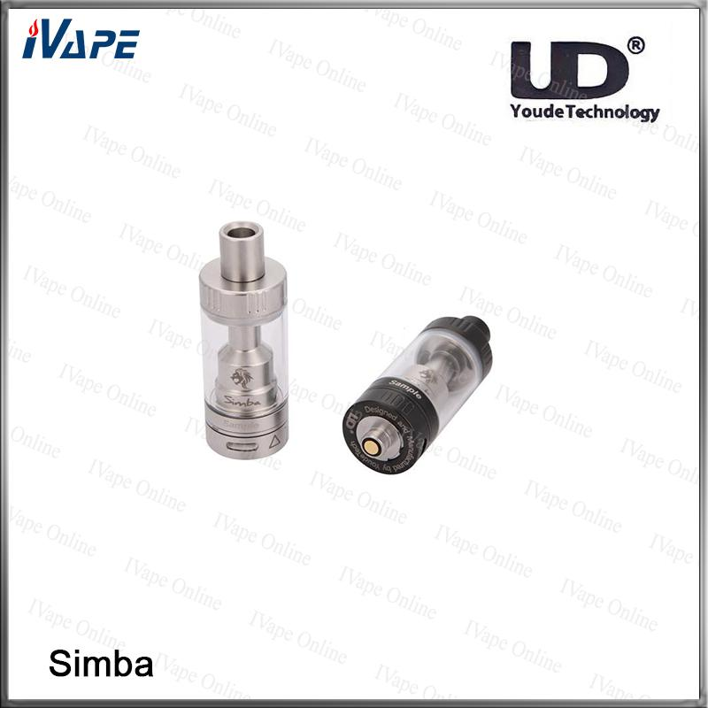 100% Original UD Youde Simba RTA Tank 4.5ml Top Füllung mit Keramikspule Simba Juice Flow Control Zerstäuber