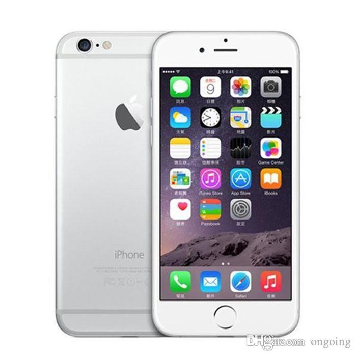 "100% Unlocked Original Refurbished apple Iphone 6 Mobile Phone without fingerprint Function 4.7"" 1GB RAM 16/64GB ROM 8MP Camera DHL shipping"