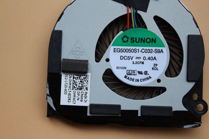 Новые оригинальные для DELL E7440 E7420 DC28000F5SL Latitude Ноутбук вентилятор охлаждения
