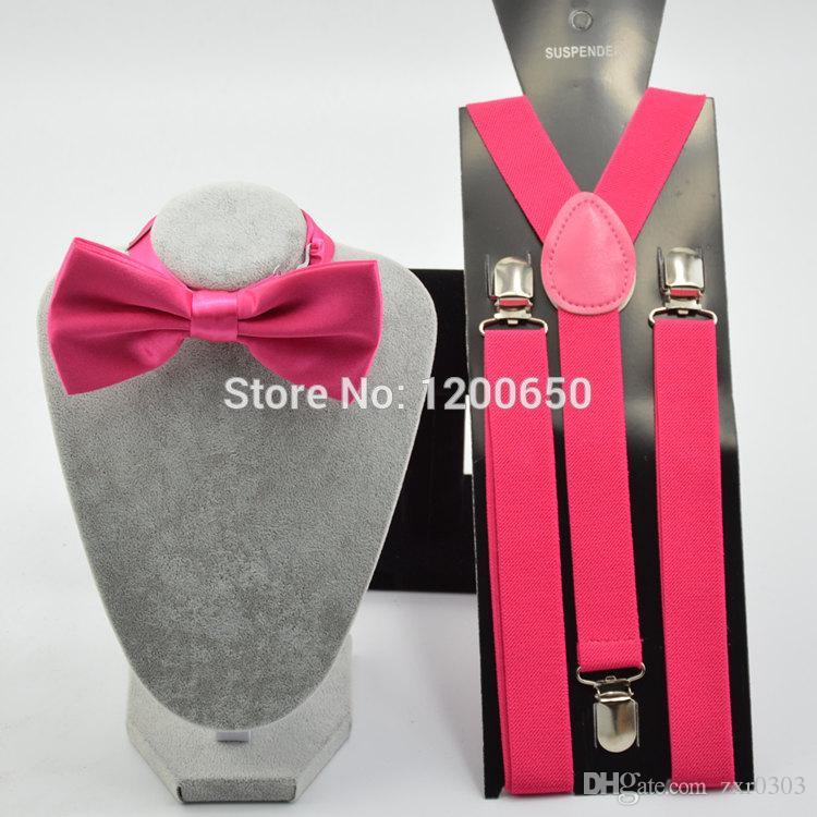 Мужская мужская Подтяжк галстук-бабочку свадьба 2.5 см эластичный Подтяжк с регулируемыми слайдами никель клип галстуки-бабочки набор для женщин мужчины свадьба