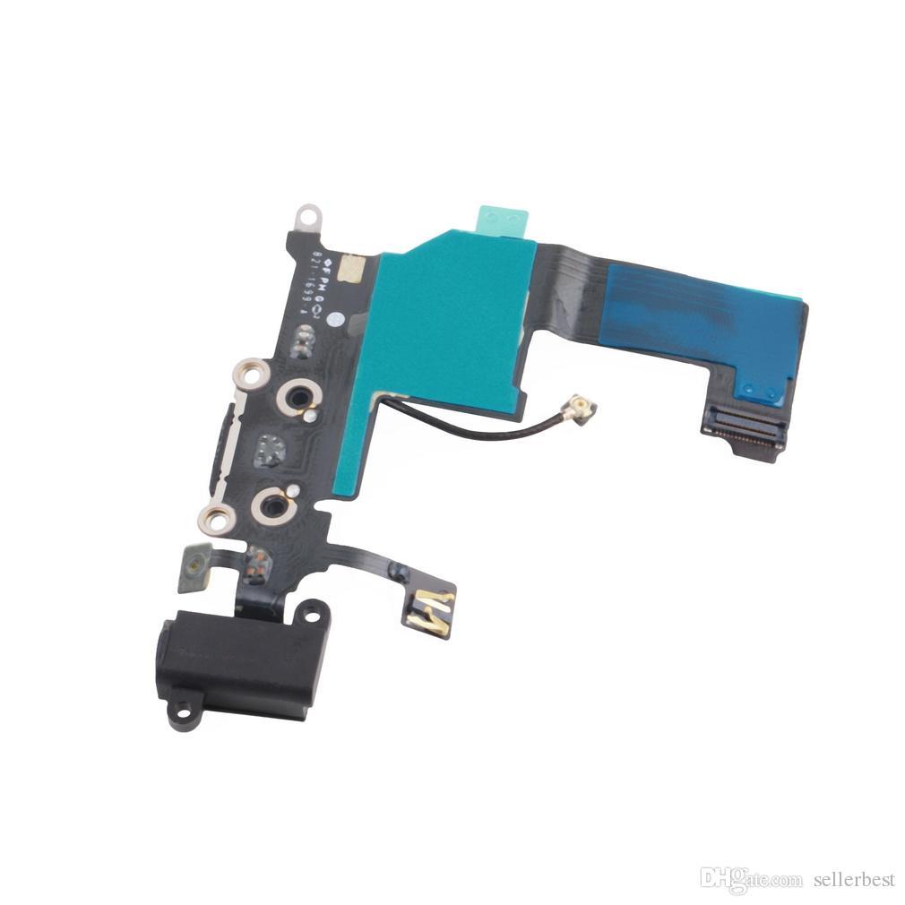 Connettore del connettore del microfono dell'altoparlante dell'antenna dell'amplificatore della flessione del connettore di carico del caricatore il iPhone 5 5G all'ingrosso