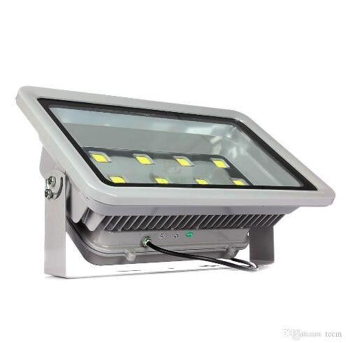 Focos reflectores Led 400W 8LED Luz de inundación exterior de alta potencia Led Gasolinera Iluminación Impermeable Cálido Blanco frío Led Canopy Lights AC 85-277V