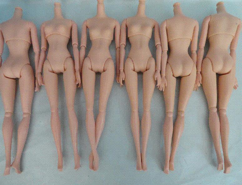 Girl naked body no head