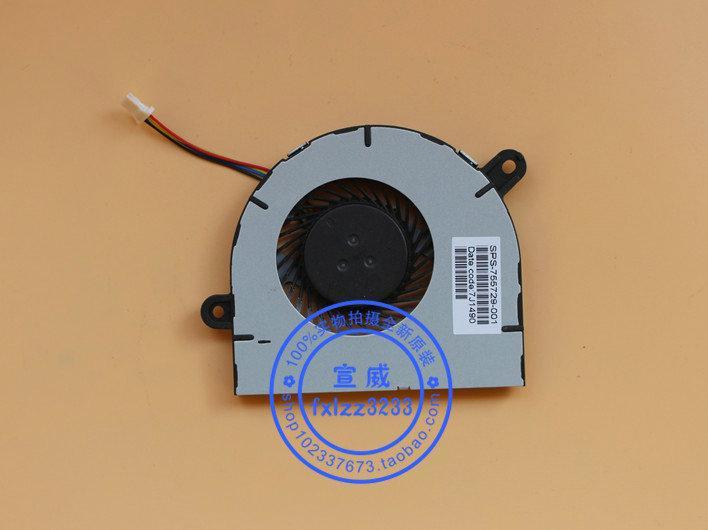 Nuevo ventilador de enfriamiento para laptop original para HP 11-N000 X360 Pavillion tpn-C115 755729-001