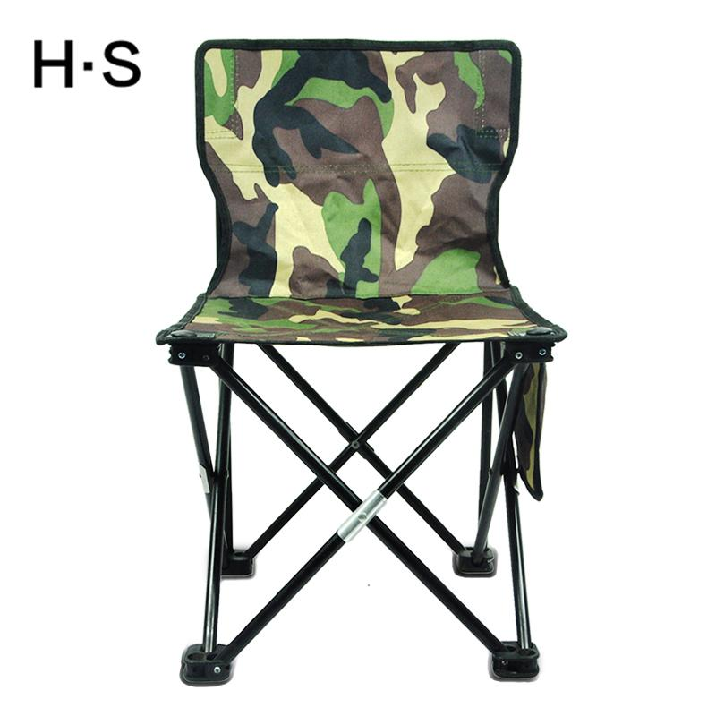 2018 Camouflage Portable Folding Camping Chair Seat Hiking Beach Garden  Outdoor Fishing Travel Have A Backrest 600d Oxford Cloth New From  Yunpin1234, ...