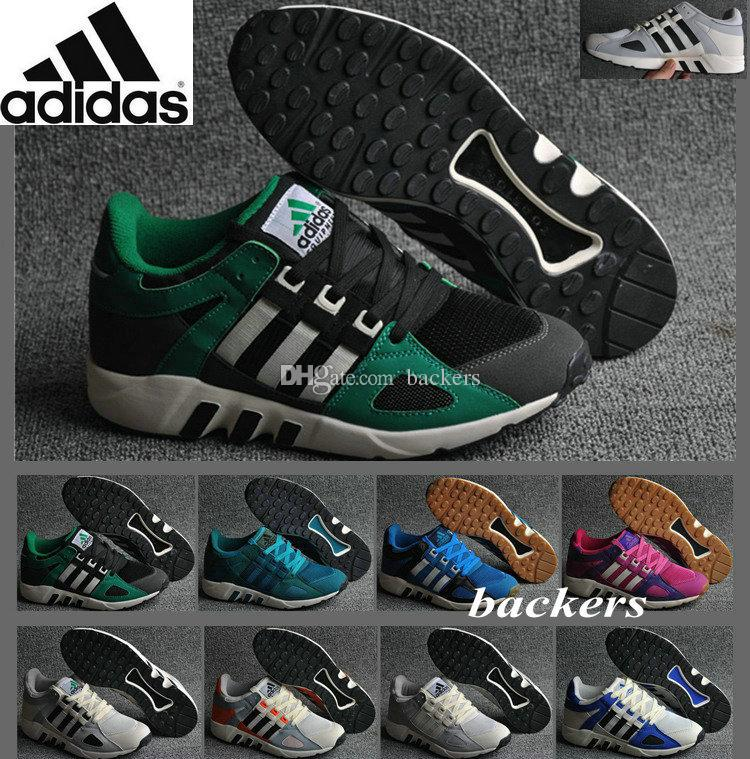 78018f98efcd1e Originals Adidas Equipment Running 93 Torsion EQT Classic Retro Running  Shoes Men Blue Green Authentic Sneakers US 7 8 8.5 9.5 10 Cheap Nude Shoes  ...