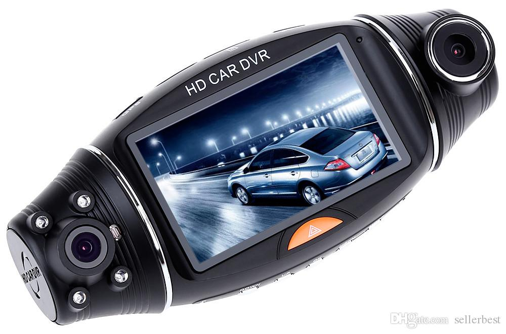 "Full HD 1080P Portable Car Camera DVR Video Recorder With G-Sensor Car DVR for Vehicle Auto Vedio FHD Dual Lens 2.7"" LCD Display"