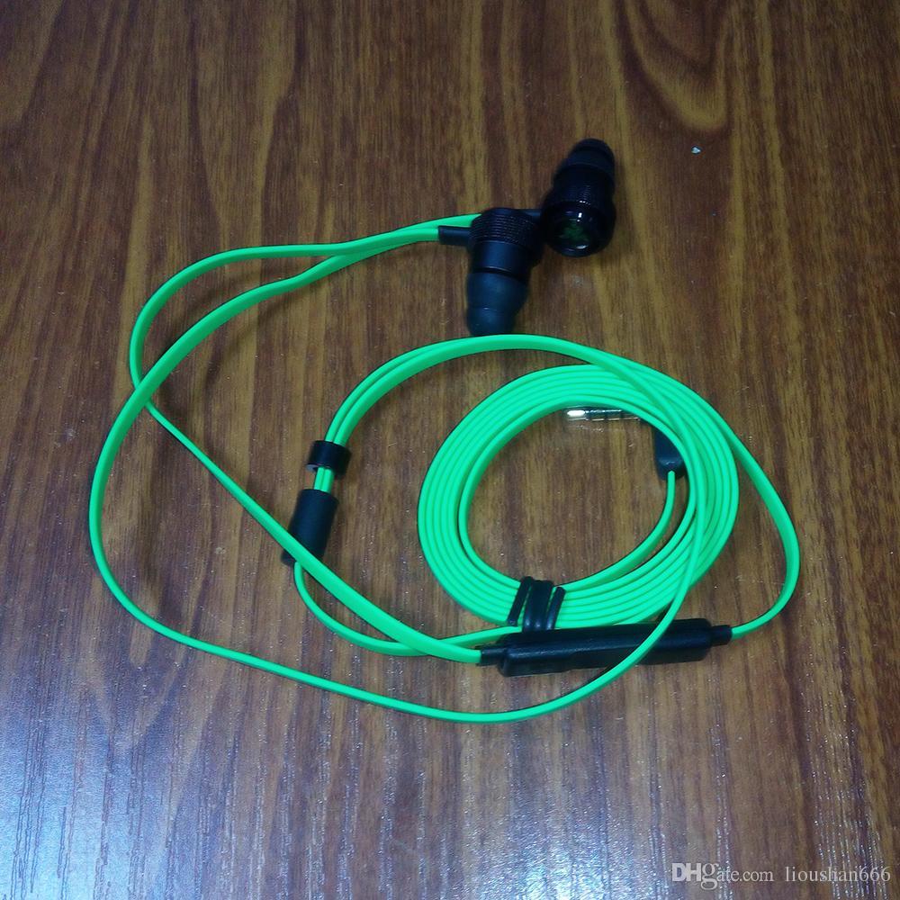 Razer Hammerhead Pro V2 Kulaklık kulak kulaklık Perakende Kutusu Ile Mikrofon Ile Kulak Oyun kulaklıklar Ücretsiz Kargo.