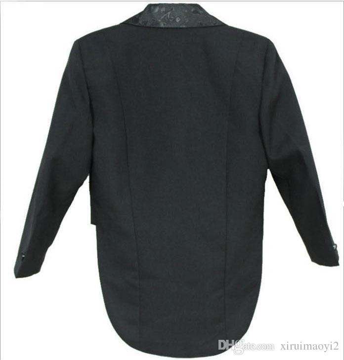 Elegante Bambino Boy Wedding Suit / Boys 'Tuxedo / Boy Blazers / Gentlemen Boys Suits matrimoni giacca + pantaloni + cravatta + cintura + camicia