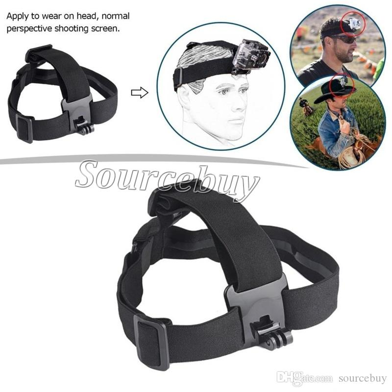 12 in 1 Kit For go pro Camera Accessories Head chest strap bracelet Monopod with Mount Adapter for GoPro Hero 5 4 3